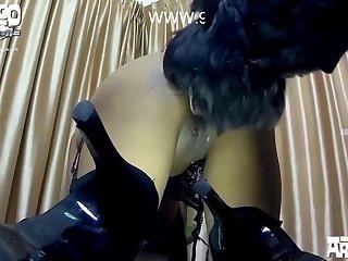 Rellenando A La Esposa Puta De Un Vato